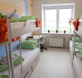 Многоместная комната для мужчин